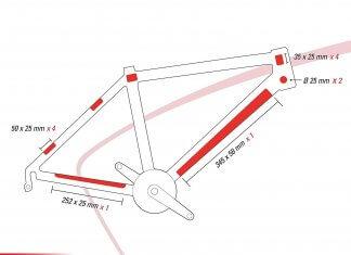 Zefal - Telaio MTB Skin Armor Bicicletta_